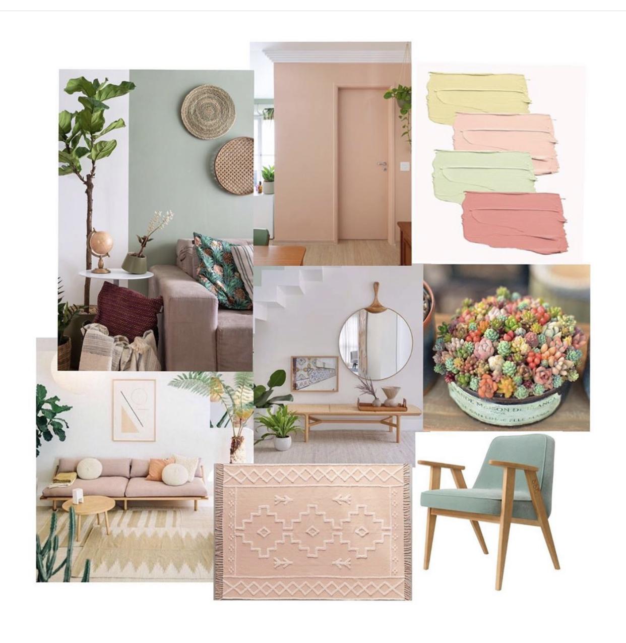 Definindo um estilo de decoração através dos Moodboards
